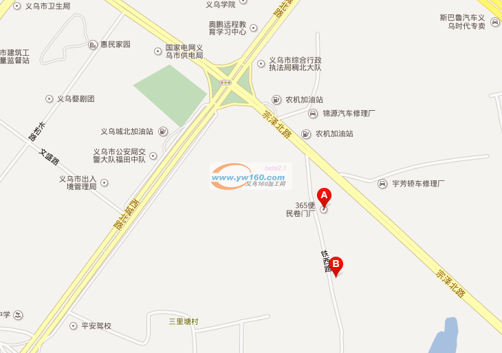 地址在义乌老义浦路
